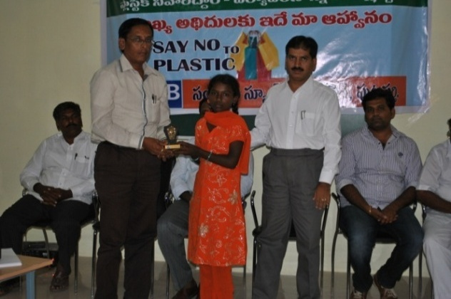 """No Plastic"" awareness campaign"